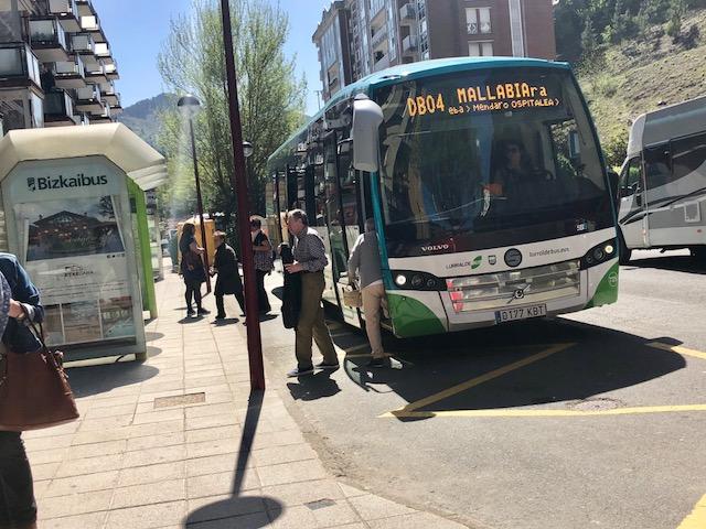 [eiberri.eus] Modificaciones de las paradas de bus desde mañana en Ermua
