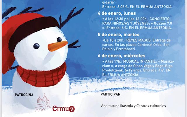 [eiberri.eus] Ermua arranca la programación navideña con Olentzero y Mari Domingi